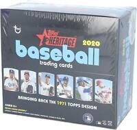 2020 Topps Heritage Baseball Factory Sealed 24 Pack Retail Box - Fanatics