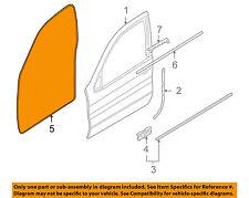 BMW OEM 00-06 X5 Front Door-Surround Weatherstrip Seal 51727025579