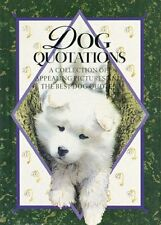 DOG QUOTATIONS BOOK by HELEN EXLEY - BNIP (Hardcover)