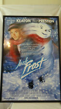 Warner Brother 1998 Jack Frost Michael Keaton and Kelly Preston Lithograph #F210