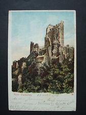 AK kolorierte Ansichtskarte Postkarte Karte 1903 Ruine Drachenfels