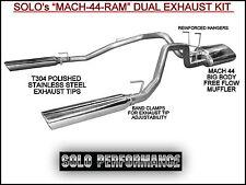 Hemi Dodge Ram 1500 Pickup Dual Exhaust Kit Stainless Steel  2009 - 2017