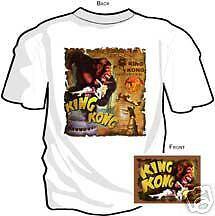 KING KONG ORIGINAL ~ WHITE T-SHIRT MEDIUM