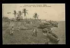 Africa France Cols Occidentale Francaise Senegal ST LOUIS River scene1907 PPC
