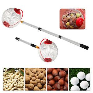 Teleskop Roll-Sammler Obstsammler Apfelsammler Nusssammler zum Rollen