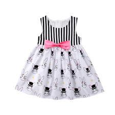 Vestido de Fiesta Conejo de Pascua ropa de bebé niño bebé Niñas Princesa Tutú De Verano