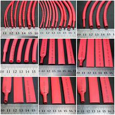 Φ4~20mm Red 4:1 Heat Shrink Tube with Glue Wire Cable Shrinkable Sleeve Wraps