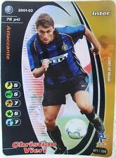 FOOTBALL CHAMPIONS Italiano 2001-02 - Christian Vieri - 071/230 foil-INTER