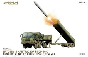 1/72 Nato M1014 MAN Tractor & BGM-109G Ground Launched Cruise Missile