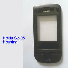 100% New Genuine Original Nokia C2-05 Front with Lens Panel Fascia Housing Black