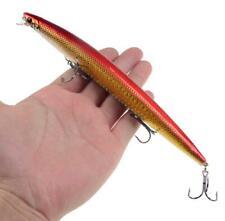 "1PCS Minnow Fishing Lure Crankbaits Wobble Plastic Hard Bait Pesca 7""-18CM"