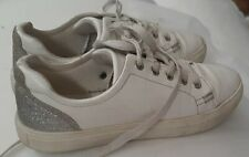 women's Girls shoes used little winter siz 35 Orp 3 us high quality white