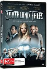 Southland Tales DVD Sarah Michelle Gellar The Rock Dwayne Johnson (Good)