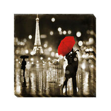 A Paris Kiss by Kate Carrigan Gallery-Wrapped Canvas Giclee Art