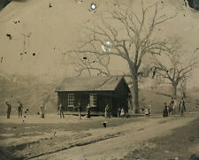 "Billy the Kid playing croquet in the summer of 1878, 11 x 14"" Photo Print"