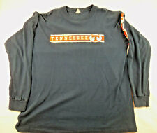VTG 90's Tennessee Volunteers Long Sleeve T-shirt Made in USA XL Distressed