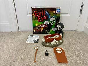 Evil Eye Family Electronic Board Game Megableu Complete w/ Instructions Tested
