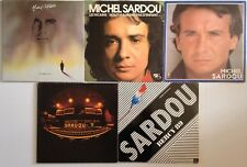 LOT DISQUES 33T SPECIAL MICHEL SARDOU