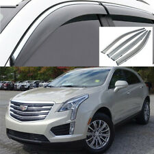 For Cadillac XT5 2017-19 Window Wind Sun Rain Guard Deflectors Visor Vent Shades