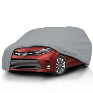 [CCT] Semi Custom Fit Full Car Cover for Toyota Sienna 1998-2016 Minivan