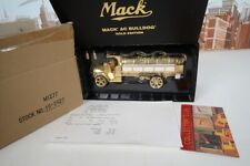 1st Gear 1/34 Scale No.19-2920 Gold Plated Mack AC Model Tanker Truck - M1277