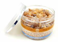 Organic NATURAL Frankincense Myrrh Resin Tears Jerusalem Incense in Box 3.5 oz