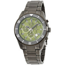 Bulova Marine Star Green Dial Stainless Steel Men's Watch 98B206