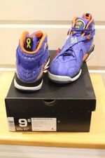 Nike Air Jordan 8 Doernbecher Hyper Blue/ Electro Orange Size US 9.5 Deadstock