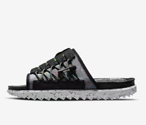 Nike Asuna Crater Slides Sandals Mens Size 14 Water ACG Space Hippie DJ4629 002