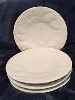 "4 Plates 6-1/2"" Fruit De Blanc by TABLETOPS UNLIMITED white - MORE AVAILABLE"