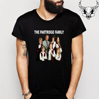 The Partridge Family 70's Comedy Tv Men's Black T-Shirt Size S to 3XL