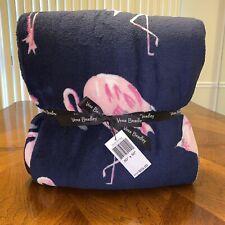 NWT Vera Bradley Throw Blanket In Flamingo Fiesta