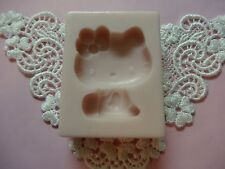 Hello Kitty silicone mold fondant cake icing decorating FOOD APPROVED
