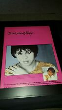 Denise Williams It's Your Conscience Rare Original Promo Poster Ad Framed!