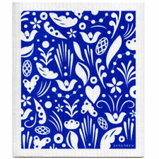 NEW Love Hearts Flowers and Leaves Design Eco Friendly Kitchen Dishcloth