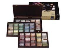 """Coffret """"master""""bois verni 225 Pastels Rembrandt Selection generale Stock limite"""