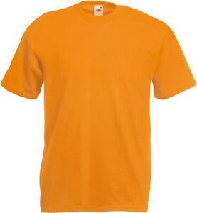 Fruit of the Loom Valueweight T-Shirt in apricot