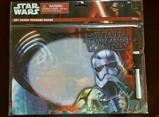 Star Wars Storm Trooper Dry Erase Board HOLOGRAM Hangable W/ Marker & Eraser!