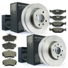 Bremsen Set Kit vorne Bremsscheiben 260mm voll Bremsbeläge Volvo 440K 460L 480E
