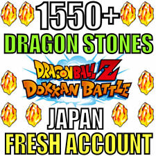 Dokkan Battle FRESH JP Account with 1550+ Dragon Stones