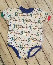 Vintage Retro Health Tex USA 18 Months Body Suit Tool Kit Construction Boy Shirt