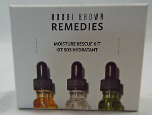 Bobbi Brown Remedies Moisture Rescue Kit SOS Hydrant 3 Piece Set 3- 3ml Botles