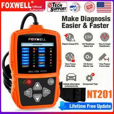 Foxwell Obd2 Automotive Scanner Code Reader Engine Light Check Evap Diagnostic