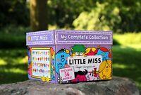 Little Miss My Complete 36 Books Children Paperback Box Set By Roger Hargreav