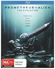 Prometheus To Alien 1 2 3 4 Movie Collection 5 Movies films Blu Ray Box set