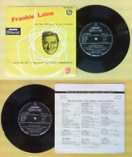 "LP 45 7"" FRANKIE LAINE PAUL WESTON Answer me I believe Hey joe no cd mc dvd*"