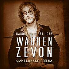 WARREN ZEVON New Sealed 2018 PREVIOUSLY UNRELEASED 1982 LIVE CONCERT CD