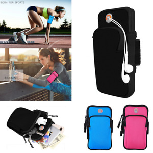 Arm Band Mobile Phone Holder Bag Case Running Jogging Gym Yoga Exercise Sports
