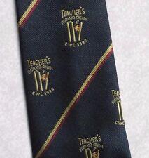 Vintage CRICKET Tie Mens Necktie Retro 1992 CRICKET WORLD CUP