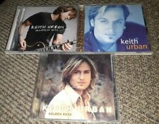 KEITH URBAN Lot of 4 CD country music GOLDEN ROAD/GREATEST HITS/SELF TITLED oop